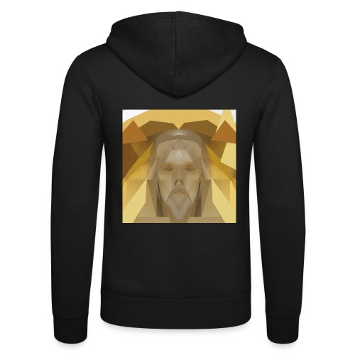 In awe of Jesus - Unisex Hooded Jacket by Bella + Canvas