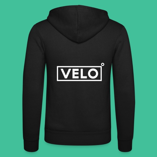 Velo Icon - Red Clr - Unisex Hooded Jacket by Bella + Canvas