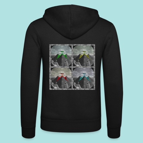 Invasion of the Giza Tombs - Unisex Hooded Jacket by Bella + Canvas