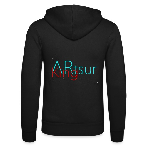 ARtsurKing Logo - Unisex Hooded Jacket by Bella + Canvas