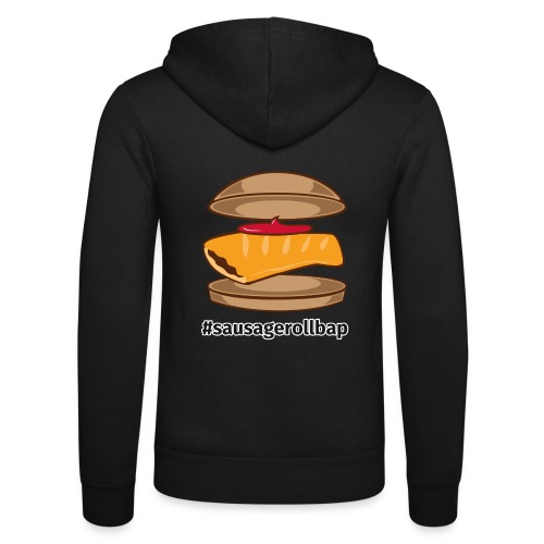 Sausage Roll Bap - Unisex Hooded Jacket by Bella + Canvas