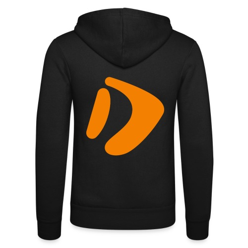 Logo D Orange DomesSport - Unisex Kapuzenjacke von Bella + Canvas