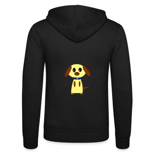 Dog Cute - Unisex Kapuzenjacke von Bella + Canvas