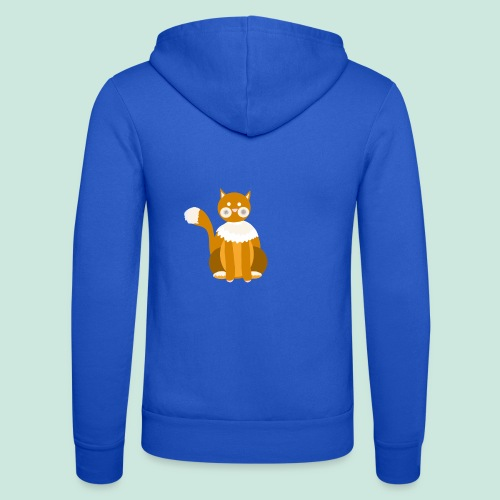Kitty cat - Unisex Hooded Jacket by Bella + Canvas