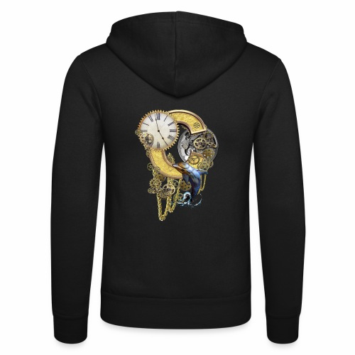 Steampunk Capital C - Unisex Hooded Jacket by Bella + Canvas