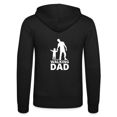 The walking dad - Veste à capuche unisexe Bella + Canvas