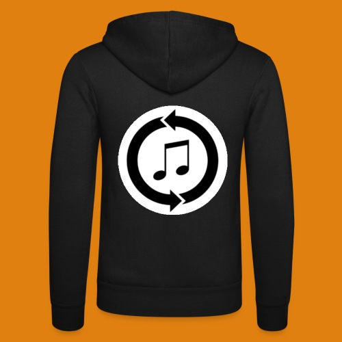 music, renew music, music, t-shirt music - Unisex Hooded Jacket by Bella + Canvas