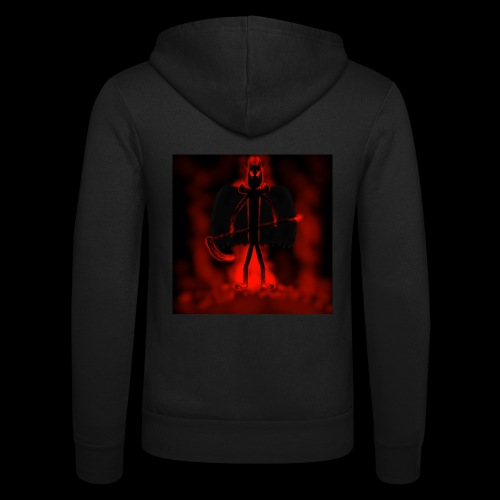 Corrupted Nightcrawler - Unisex Hooded Jacket by Bella + Canvas
