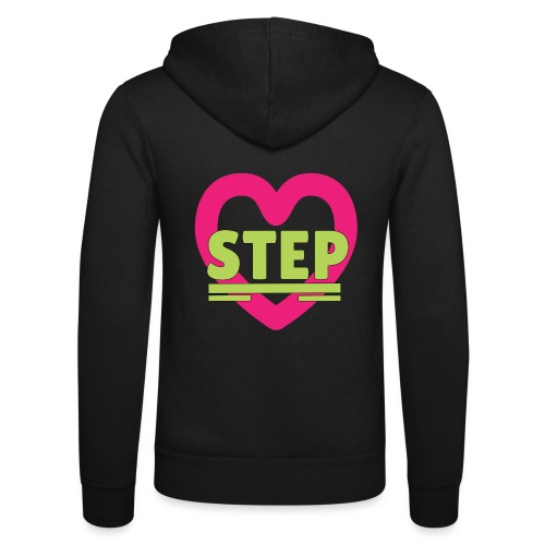 lovestep - Unisex Hooded Jacket by Bella + Canvas