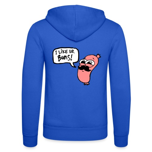 Mr. Sausage - Unisex Hooded Jacket by Bella + Canvas