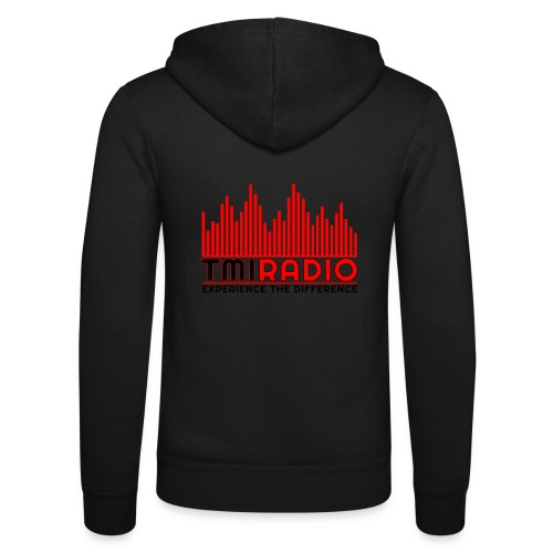 NEW TMI LOGO RED AND BLACK 2000 - Unisex Hooded Jacket by Bella + Canvas