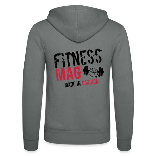Fitness Mag made in corsica 100% Polyester - Veste à capuche unisexe Bella + Canvas