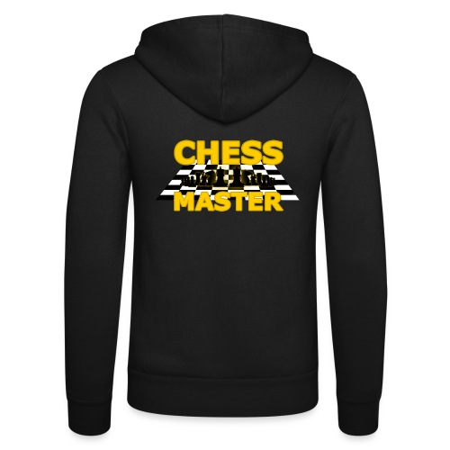 Chess Master - Black Version - By SBDesigns - Unisex Hooded Jacket by Bella + Canvas