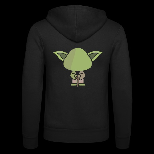 Master Yoda - Unisex Hooded Jacket by Bella + Canvas