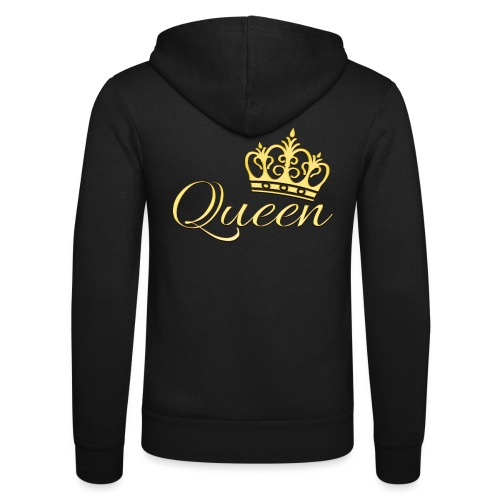 Queen Or -by- T-shirt chic et choc - Veste à capuche unisexe Bella + Canvas