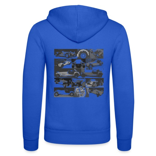 Lots of Caterhams - Unisex Hooded Jacket by Bella + Canvas