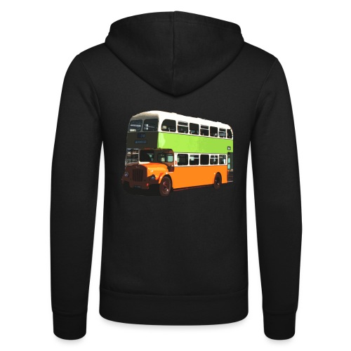 Glasgow Corporation Bus - Unisex Hooded Jacket by Bella + Canvas