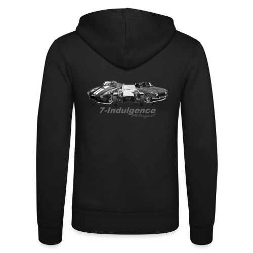 3 Cars - Unisex Hooded Jacket by Bella + Canvas