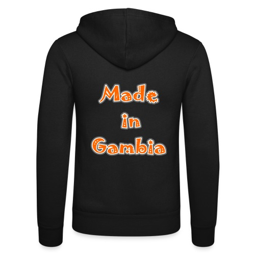 Made in Gambia - Unisex Hooded Jacket by Bella + Canvas