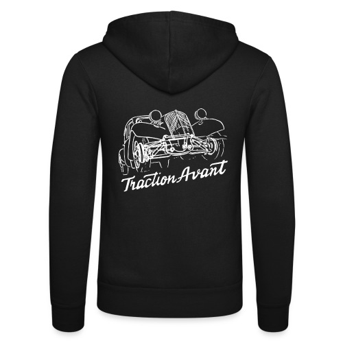 Traction Avant - Unisex Hooded Jacket by Bella + Canvas