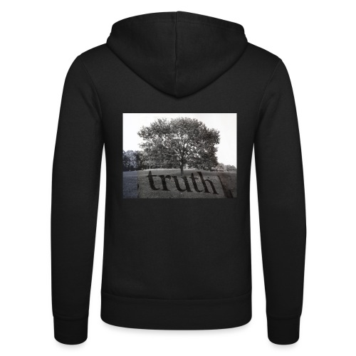 Truth - Unisex Hooded Jacket by Bella + Canvas