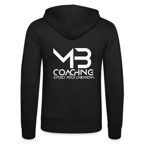 mb coaching log0 - Unisex Hooded Jacket by Bella + Canvas