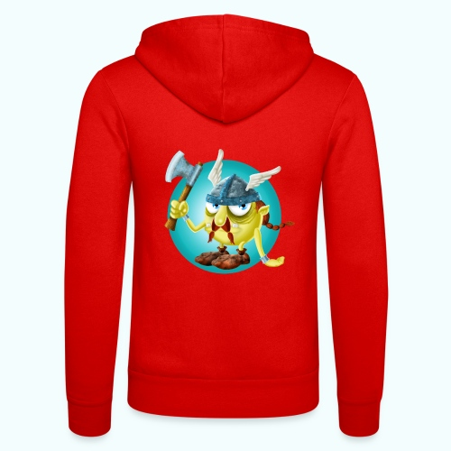 Gnome 1 - Unisex Hooded Jacket by Bella + Canvas