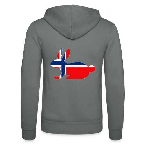 norwegian bunny - Unisex Hooded Jacket by Bella + Canvas