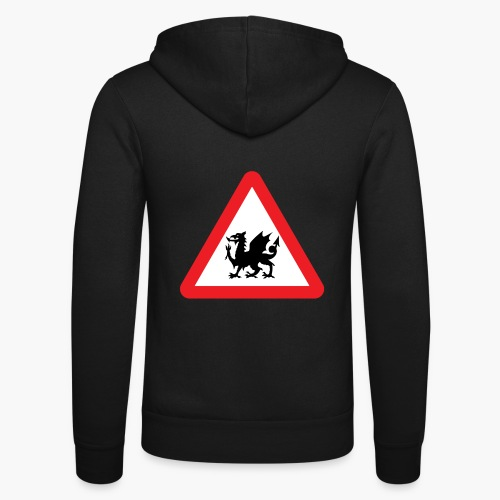 Welsh Dragon - Unisex Hooded Jacket by Bella + Canvas