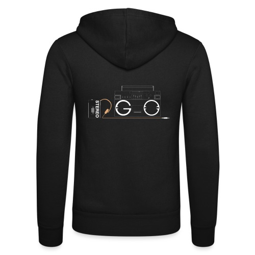 Design S2G new logo - Unisex Hooded Jacket by Bella + Canvas
