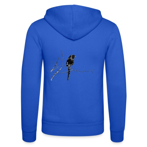 I like birds ll - Unisex Kapuzenjacke von Bella + Canvas