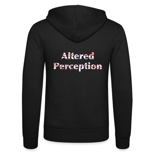 Altered Perception - Unisex Hooded Jacket by Bella + Canvas