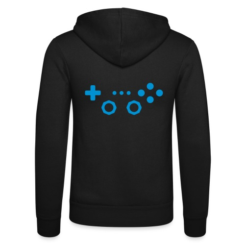 Classic Gaming Controller - Unisex Hooded Jacket by Bella + Canvas