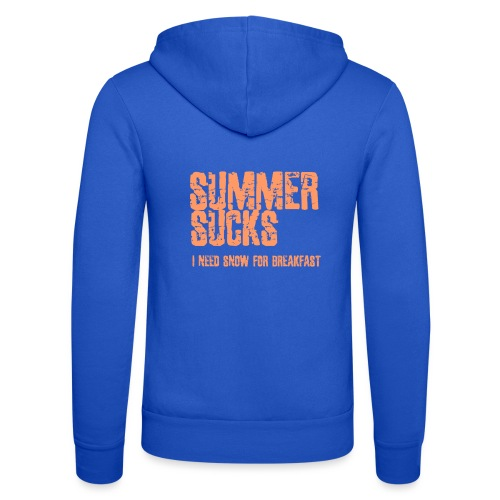 SUMMER SUCKS - Unisex hoodie van Bella + Canvas