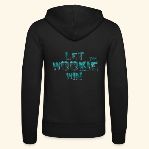 Let The Wookie Win, design 2. - Unisex hættejakke fra Bella + Canvas
