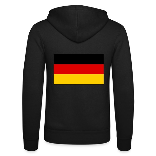 2000px Flag of Germany svg - Unisex Kapuzenjacke von Bella + Canvas