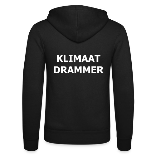 Klimaat Drammer - Unisex Hooded Jacket by Bella + Canvas