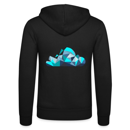 'CLOUD' Mens T-Shirt - Unisex Hooded Jacket by Bella + Canvas