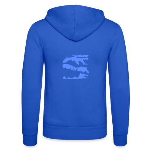 Blue_Sample.png - Unisex Kapuzenjacke von Bella + Canvas