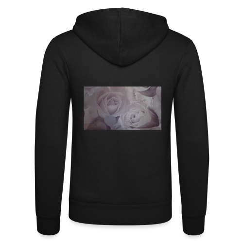 perfect pink rose's - Unisex Hooded Jacket by Bella + Canvas