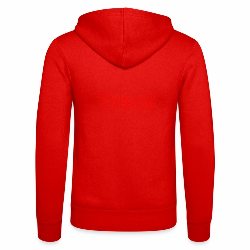 TRENT classic red - Unisex Hooded Jacket by Bella + Canvas
