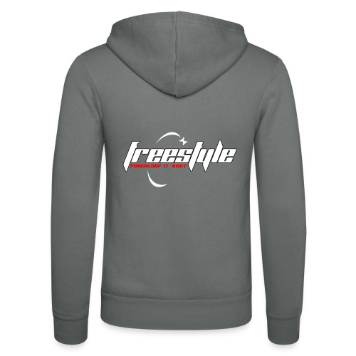 Freestyle - Powerlooping, baby! - Unisex Hooded Jacket by Bella + Canvas