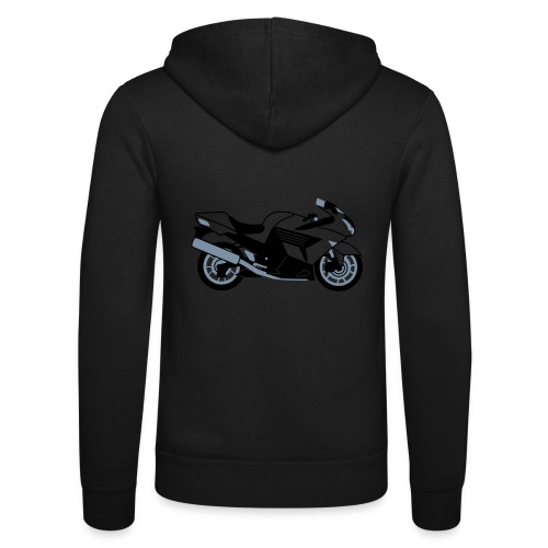 ZZR1400 ZX14 - Unisex Hooded Jacket by Bella + Canvas