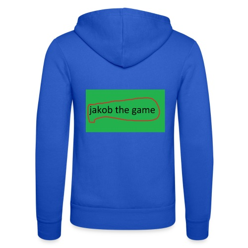 jakob the game - Unisex hættejakke fra Bella + Canvas