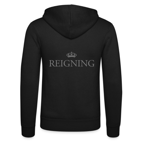 Gin O'Clock Reigning - Unisex Hooded Jacket by Bella + Canvas