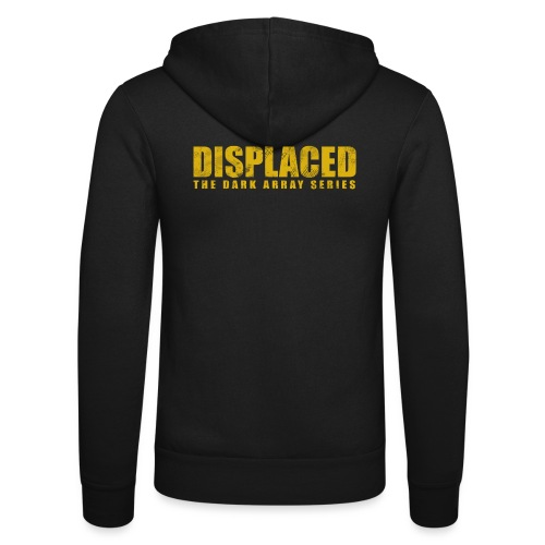 Displaced (Yellow) Branding - Unisex Hooded Jacket by Bella + Canvas
