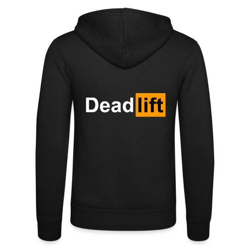 DeadLift X - Veste à capuche unisexe Bella + Canvas