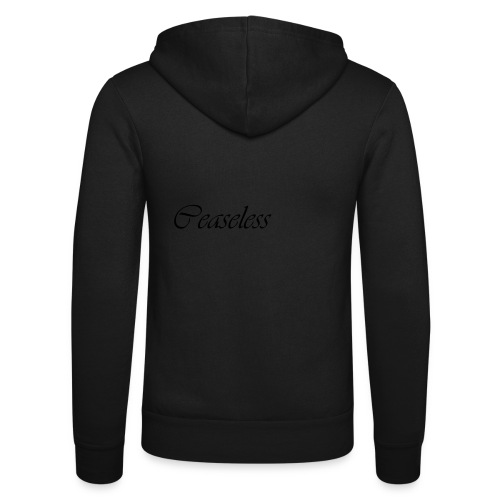 ceaseless - Unisex Hooded Jacket by Bella + Canvas