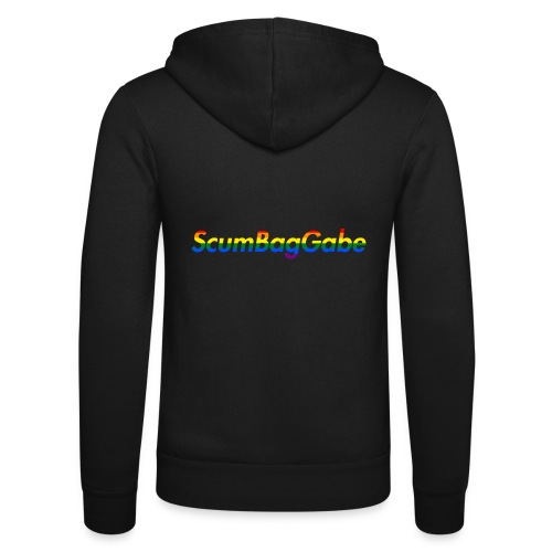 ScumBagGabe Multi Logo XL - Unisex Hooded Jacket by Bella + Canvas