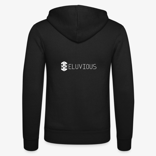 Eluvious   With Text - Unisex Hooded Jacket by Bella + Canvas